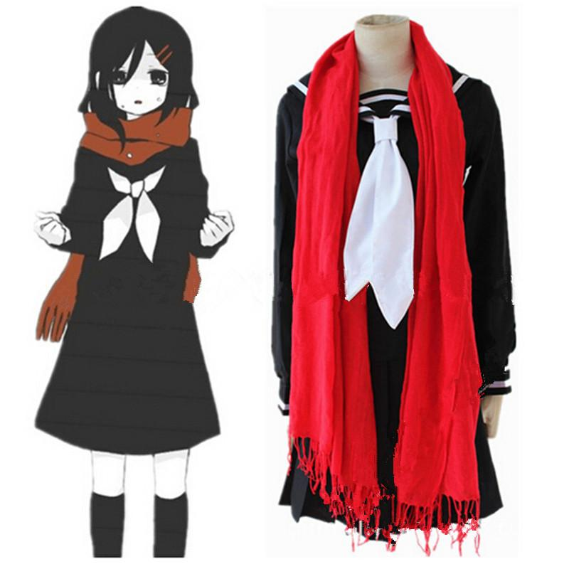 New Arrival Japanese Anime Kagerou Project Mekakucity Actor Tateyama Ayano Cosplay Uniform Halloween Costumes for Women