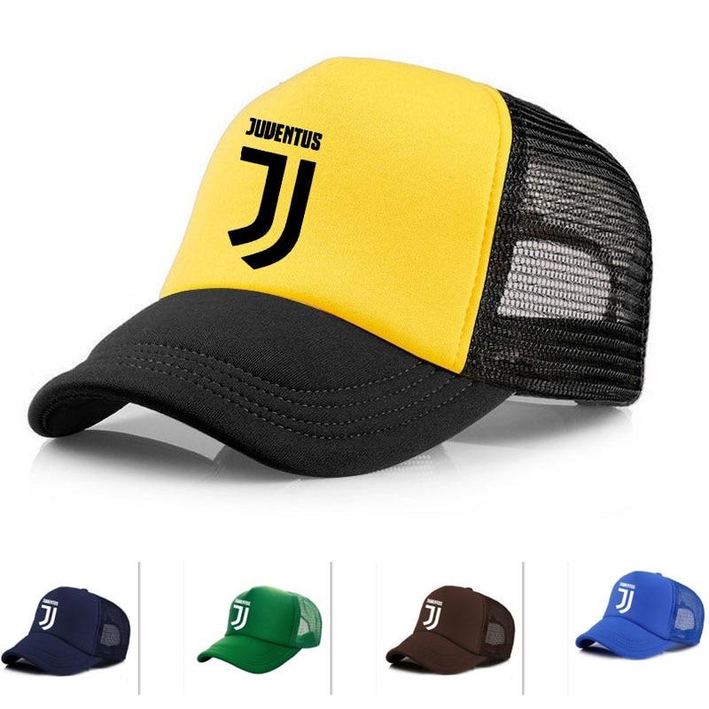 7355b1a442 Vinyl Name hat Adult RONALDO Caps mesh meret juventus Baseball cap mens  Quick dry sports Trucker Hats JJ pvc Hats sun Snapbacks