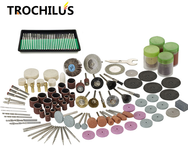 Trochilus Professional Mini Grinder Tool Accessories Multifunction Grinding & Polishing Tools DIY creation Hand Tools Kit new high quality multi function grinder tools accessories polishing tools accessories grinding diy hand tools 100pcs