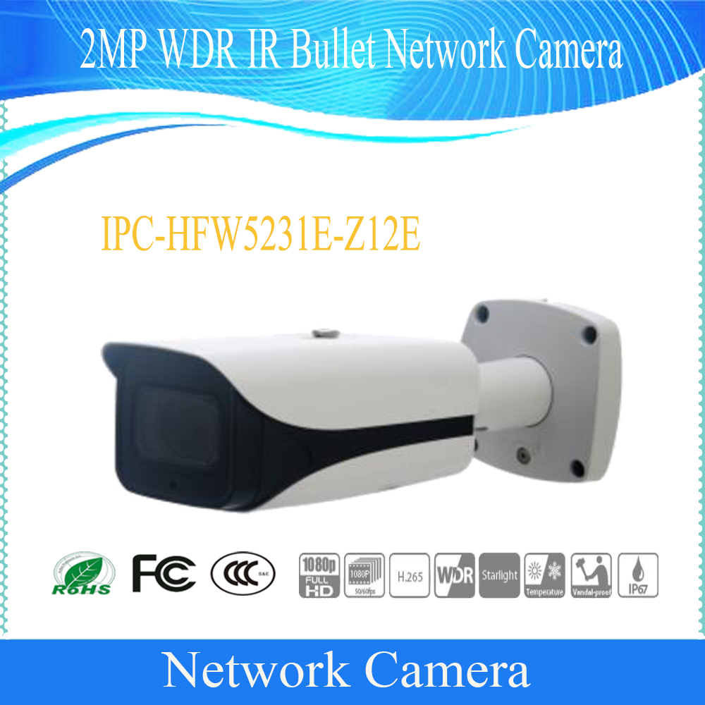 Free Shipping DAHUA Security IP Camera 2MP WDR IR Bullet Network Camera IP67 IK10 with POE without Logo IPC-HFW5231E-Z12E free shipping dahua security ip camera 2mp wdr ir bullet network camera ip67 ik10 with poe without logo ipc hfw5231e z12e