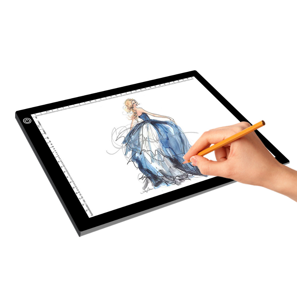 LED DRAWING BOARD LIGHT A4 USB POWER TRACING PAD FOR ANIMATION PHOTOGRAPH ETC...
