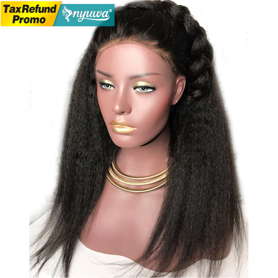 Just 13x6 Curly Lace Front Human Hair Wigs With Baby Hair Bleached Knots Brazilian Remy Lace Frontal Wigs Pre-plucked 150% Density Human Hair Lace Wigs