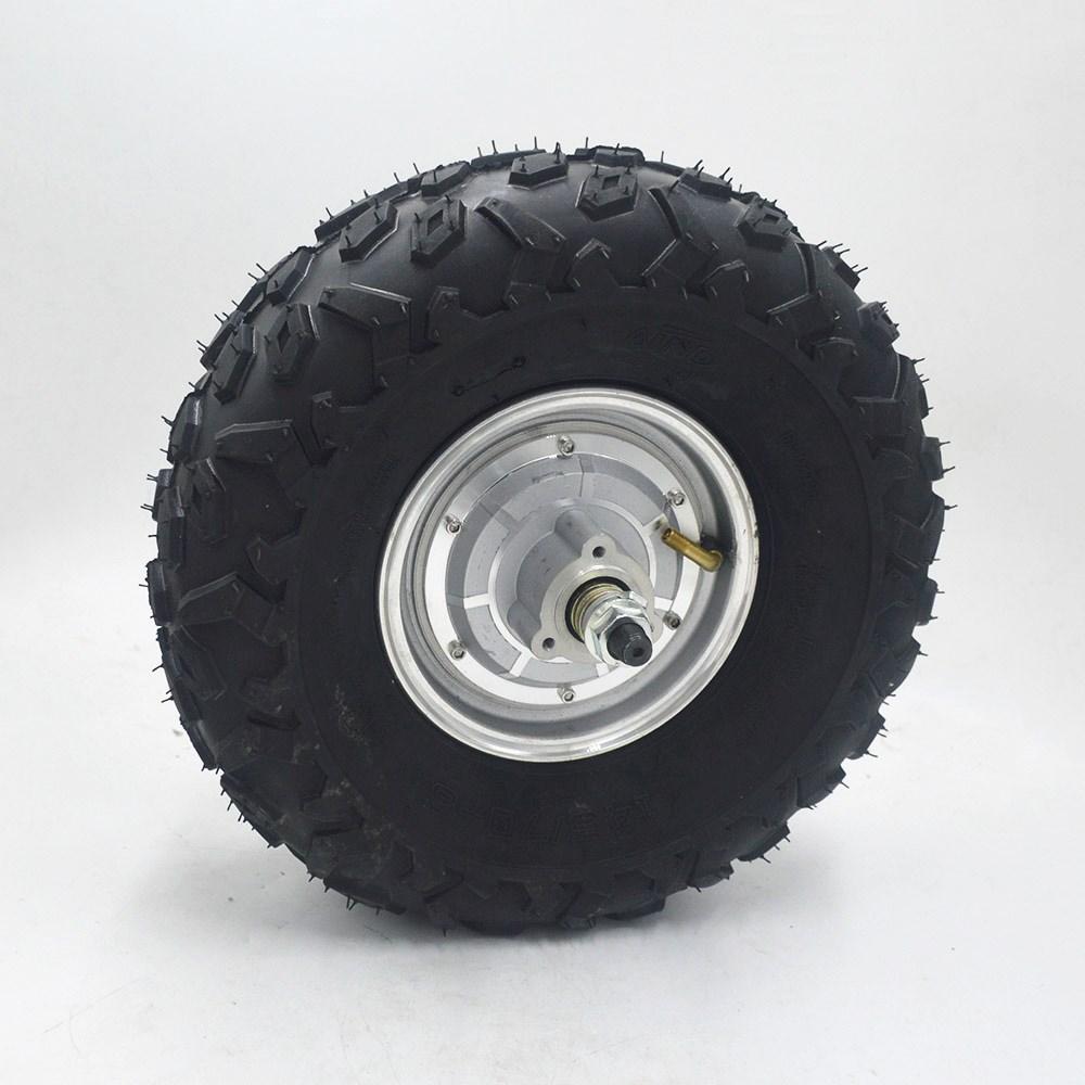 24 V 36 V 48 V 350 W 500 W kit de brouette électrique tout Terrain gros hors route pneu rugueux 14.5