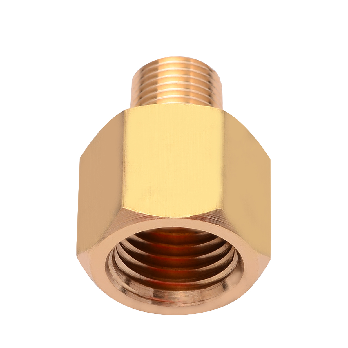 Durable Brass BSP-NPT Adapter 1/8 Inch Male BSPT To 1/4