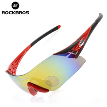ROCKBROS Outdoor Sports Bicycle Glasses Bike Sunglasses TR90 Goggles Eyewear With Polarized/Colorful/Night-vision Lenses 6Colors