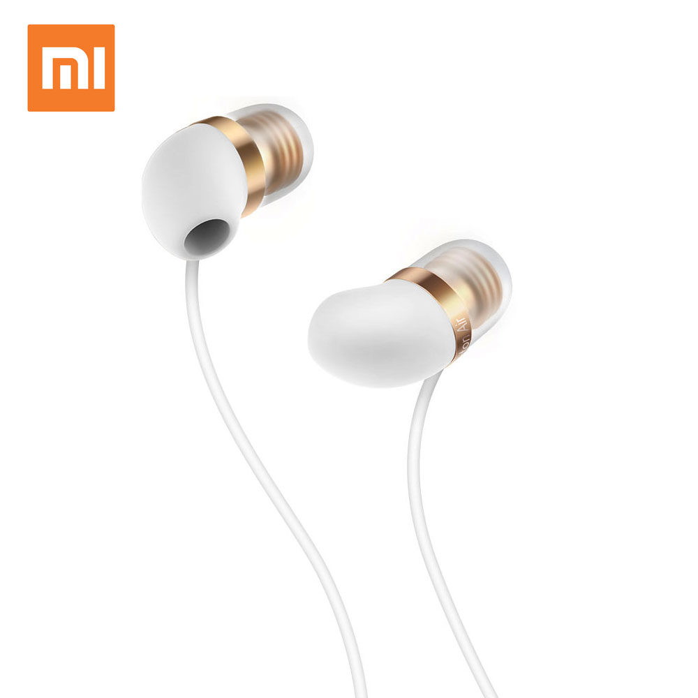 Xiaomi Mi In-Ear Earphone Capsule Piston Air With Mic Earphone Silicone Earphones For Cell Phone 100% Original Sale