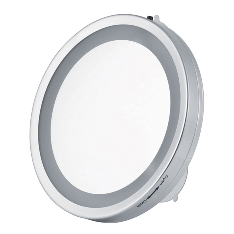 6 Inch LED Light Make Up Mirror Suction Cup Cosmetic Mirror Wallmounted  Makeup LED Mirror Bathroom. Popular Suction Cup Mirror Bathroom Buy Cheap Suction Cup Mirror