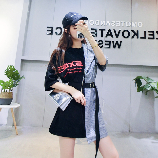 Cheap wholesale 2018 new Spring summer Hot selling women's fashion casual sexy Dress C154-18714