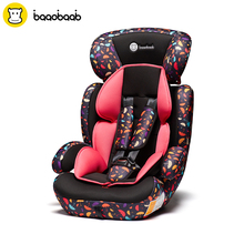 Baaobaab Forward Facing Child Car Seat Group 1/2/3 (9-36 kg) Five-Point Harness Baby Booster Safety Seats 9 Month - 12 Years Old