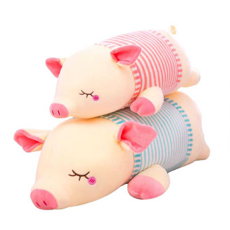 New Large Soft pig Animal Plush Toy Stuffed Toy Girl Gift Children's Toy Sofa Pillow zodiac pig Home Decoration