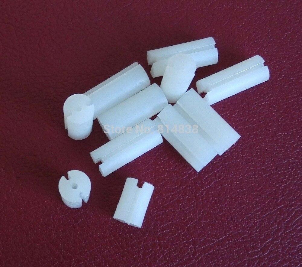 Dia. 6,3 мм L = 17 мм светодиодный Spacer Поддержка капюшон печатной платы крепление три отверстия