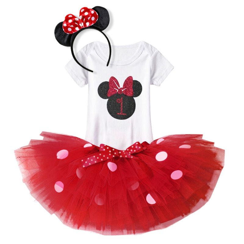 Baby 1st Birthday Dress Newborn Infant Baby Girls Clothes 1 2 Year First Birthday Outfit tutu bebes menina Toddler Girl Dresses цена 2017