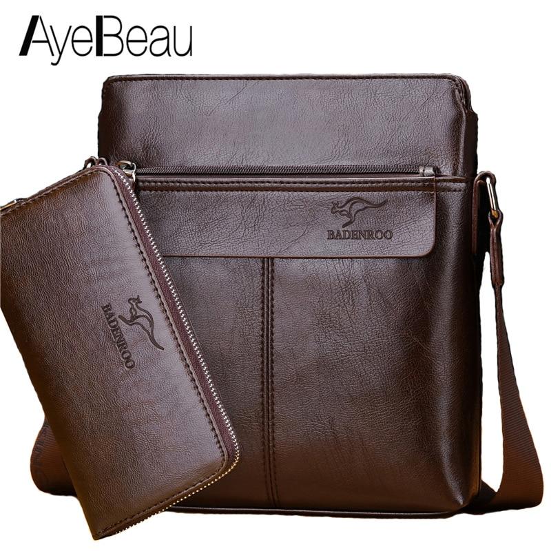 Portable Hand Work Business Office Male Messenger Bag Men Briefcase For Document Handbag Satchel Portfolio Brief Case Handy 2018
