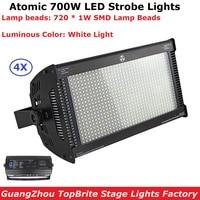 4Pcs Lot Martin Atomic 700W LED Strobe Light DMX Super Bright 700W White Color Strobe