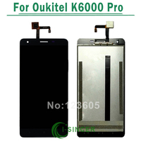 For Oukitel K6000 Pro LCD Display With Touch Panel Screen Repair Replacement Free Shipping