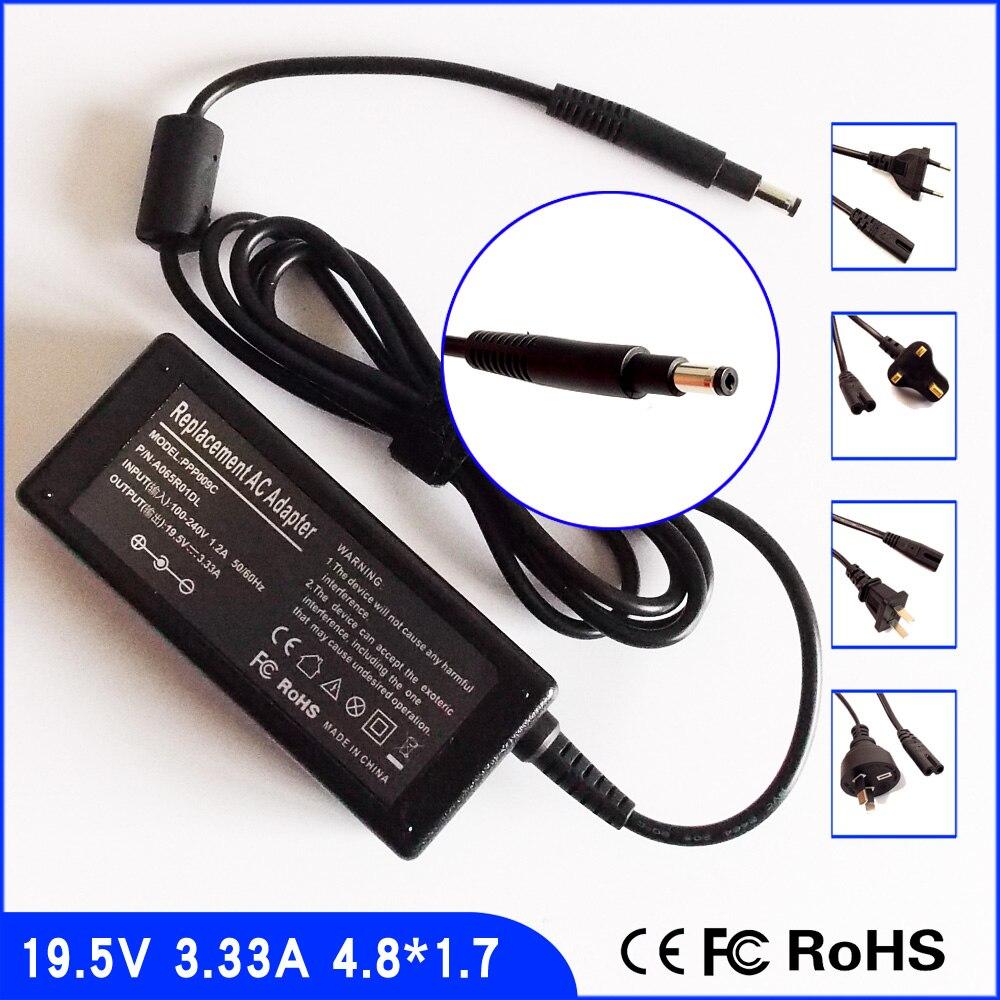 19.5V 3.33A Laptop Ac Adapter Power SUPPLY + Cord for HP Spectre XT 13-2120tu 13-2121tu 13-2207tu 13-2208tu 13T-2000 13-2150NR
