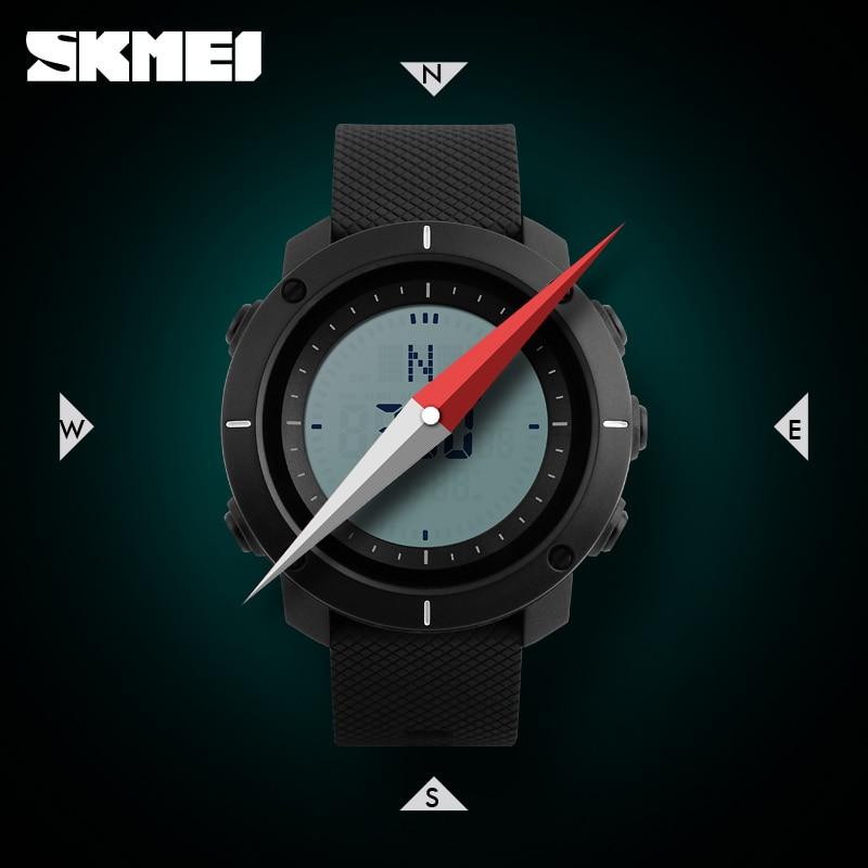 Men's Watches Digital Watches Zk20 Fashion Sport Watch Men Compass Watch Alarm Clock Chrono Back Light 5bar Waterproof Digital Wristwatch Reloj Hombre 1216