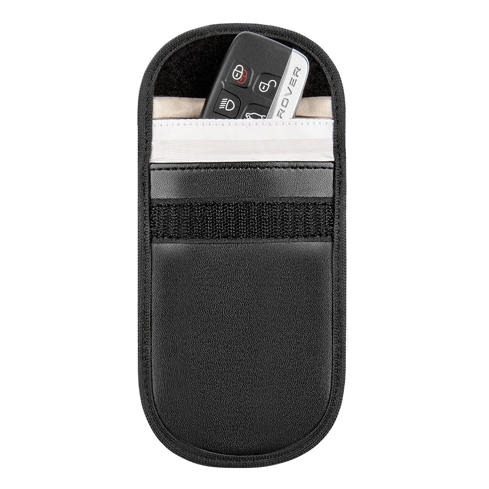 Car Key Signal Blocker Case Fob Pouch Faraday Keyless RFID Blocking Pouch