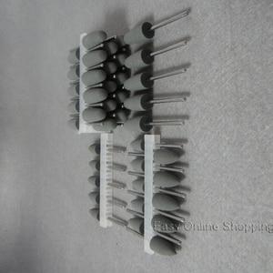 Image 3 - 50pcs Grey Dental SILICONE Polishers Resin Base Acrylic Polishing Burs New Dental lab burs
