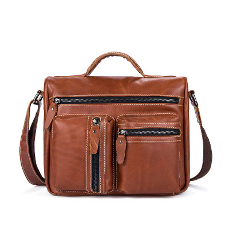 YISHEN Fashion Retro Genuine Leather Men Shoulder Crossbody Bags Large Capacity Male Handbags Messenger Bags Causal Tote MLT7818YISHEN Fashion Retro Genuine Leather Men Shoulder Crossbody Bags Large Capacity Male Handbags Messenger Bags Causal Tote MLT7818