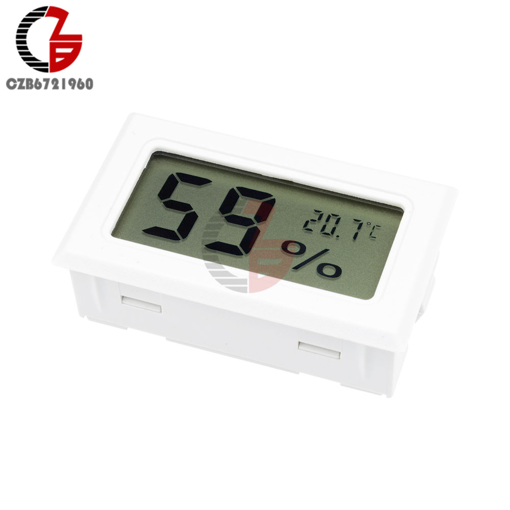 Digital Meter Lcd Temperature Humidity Thermometer Hygrometer Green House Module