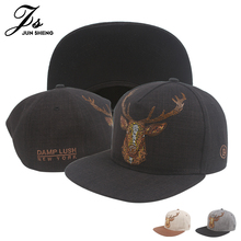 Elk Print Baseball Cap Cotton Cap Men or Women Hat Peaked cap Unisex Cap