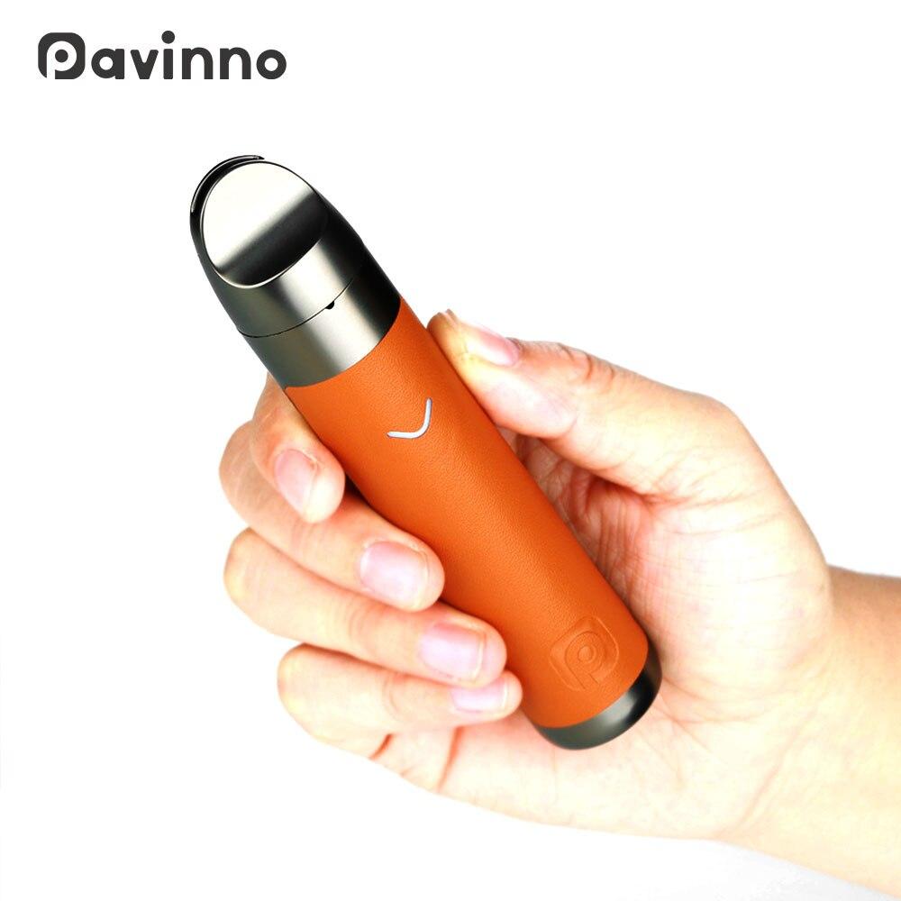 D'origine Pavinno Puro Pod Vaporisateur Kit 1450 batterie mah 2 ml Pod Evaporizerwith Tirage-activé L'inhalation Ecigarette vaporisateur stylo Vs Minifit