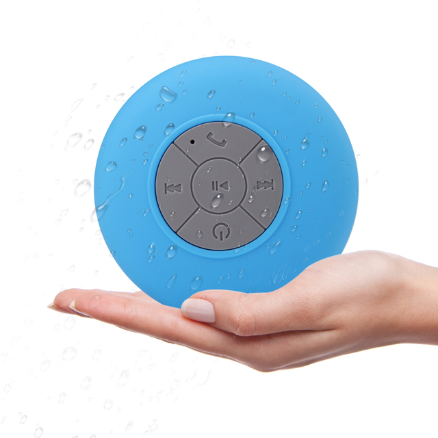 Bluetooth Динамик мини Беспроводной Динамик Портативный сабвуфер душ Водонепроницаемый с присоской Поддержка Hands-Free