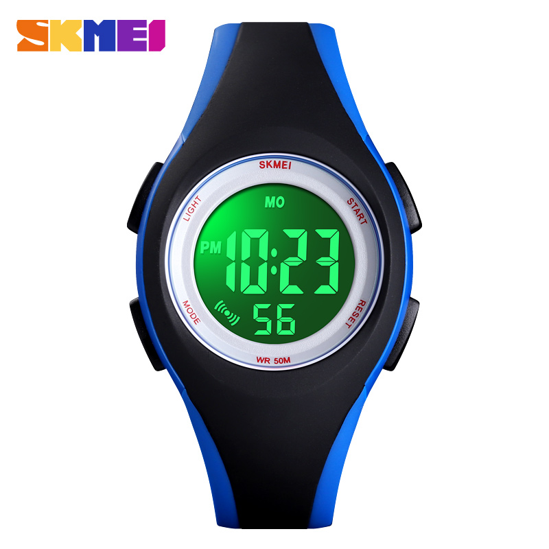 SKMEI 1459 Teenager Sport Luminous Digital Watches 50M Waterproof Children Watch Alarm Chrono Boys Girls Wristwatch Reloj Mujer|Children's Watches| |  - title=