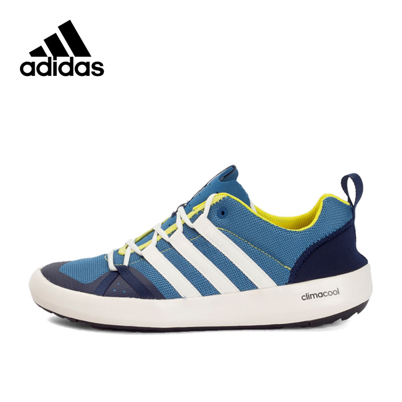 New Arrival 2017 Original Adidas Unisex Aqua Shoes Outdoor Sports Sneakers adidas original new arrival unisex shoulder bag aj9998 aj9997 sports outdoor bags one shoulder free shipping