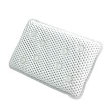 New PVC Foam Bathtub Pillow Hollow out Bathtub Pad with Non-slip Suction Cups Comfort Head Neck Quick Drying Anti-bacteria(China)
