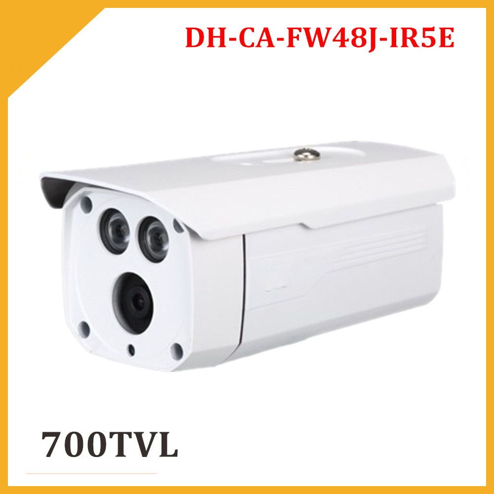 DH 700TVL Security Camera DH CA FW48J IR5E IR distance 50M Waterproof for Outdoor use Analog camera CCTV Camera