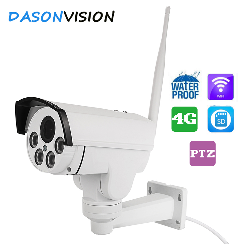 Wifi 4G PTZ wireless IP camera outdoor 2MP SONY IMX323 HD 2.7-13.5mm optical 5xzoom pan tilt IR night vision security p2p Cam email alarm security hd 720p h 264 ip camera p2p pan tilt wifi wireless network ip security camera baby monitor ptz night vision