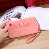Candy Color Girls Leather Wallet Phone Bag Case For IPhone 8 8plus 7 6 6s Plus