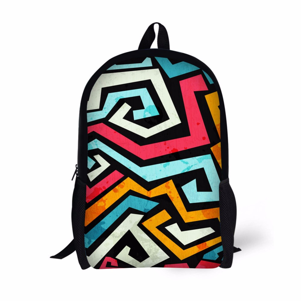 Hue Pack Us 17 99 28 Off Hue Master Children School Bags Cartoon Clown Bag Pack 17 Inch Female Male Backpack Casual Travel Rucksack Mochila Unicornio In