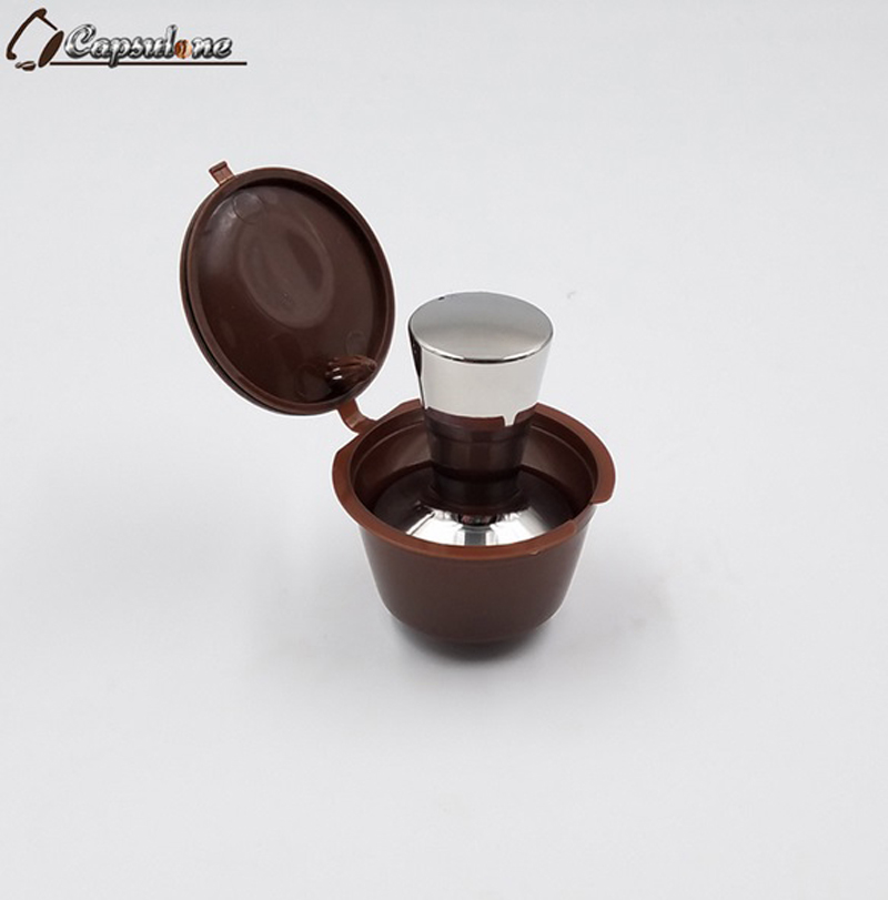 dolce gusto coffee tamper stainless steel filling tool for dolce gusto machine refillable coffee. Black Bedroom Furniture Sets. Home Design Ideas