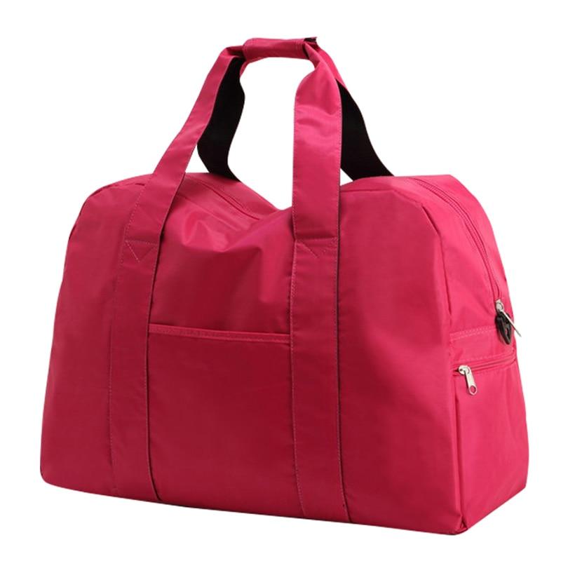 3 izmērs Liela ietilpība Portatīvie nedēļas nogales sievietes Ceļojumu somas Ūdensnecaurlaidīgs bagāža Duffle Bag 20% OFF T304