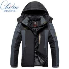 Зима новый большой ярдов Плюс толстый бархат мужская куртка пальто Windand водонепроницаемый мужские случайные теплый Хлопок куртка L-5XL6XL 7XL 8XL 9XL