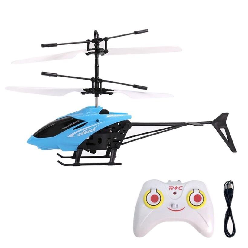 rc Helicópteros mini disco voador rc indução Canais de Controle : 2 Canais