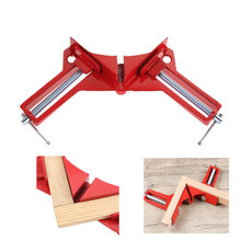 лучшая цена 90 Degree Right Angle Clamp 100mm Mitre Clamps Corner Clamp Picture Holder Clamp