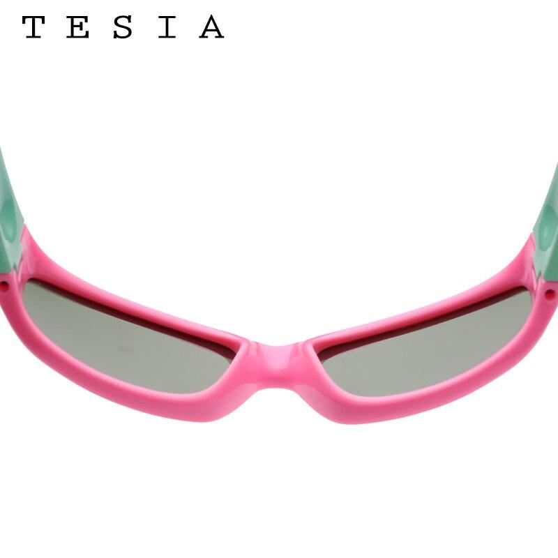 TESIA Niños polarizados Gafas de sol Niños Silicona Flexible - Accesorios para la ropa - foto 4