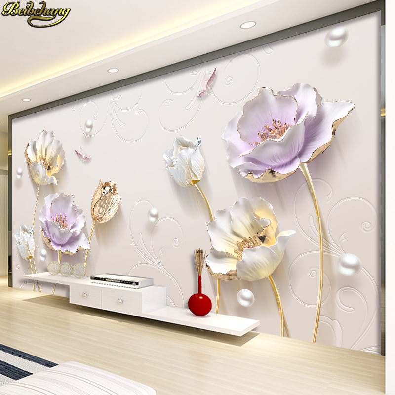 Á'Ž Beibehang 3d Tv Background Wallpaper Three Dimensional Concave Frescoes Simple Modern Decoration Wall Paper Living Room Bedroom A316
