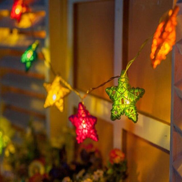 42e4f265be5 Nueva caliente ac110v ~ 220 V RGB intermitente LED cadena Navidad luces 5  m 20