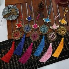 Creative Plum Blossom Auspicious Knot 10 pcs Chinese Characteristics Gifts Accessories Living Room Pendant Tassels knots