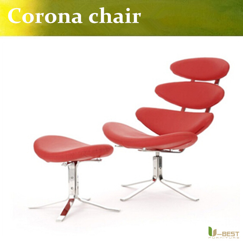 U-BEST CORONA EJ605 Style CHAIR & STOOL,Home & Garden lounge chair in real leather corporate real estate management in tanzania