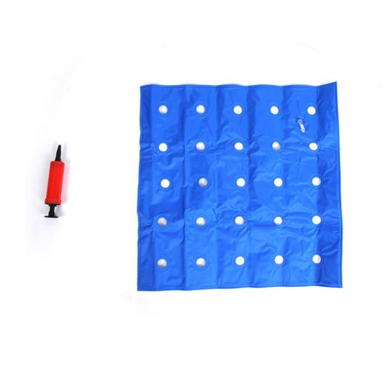 2 Pcs PVC Inflatable cushion medical wheelchair cushion office mat car mat square inflatable cushion Anti-decubitus Health Care