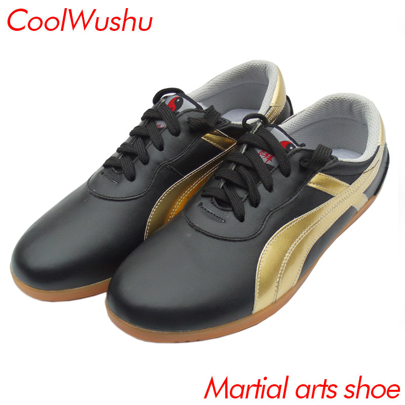 Martial arts shoes chinese tai chi shoes kung fu shoes wu shu xie taiji xie Cow Muscle CoolWushu Warm winter women and man shoes real cowhide against the stench martial arts kung fu shoes figure end of antiskid beef tendon yin and yang