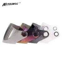 New Motorcycle Helmet Sun Shield Full Face Helmet Motorbike Moto Helmet Replacement Visor Lens For NITRINOS