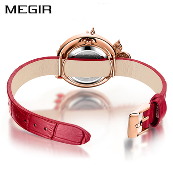 MEGIR Luxury DIY Women Watches Top Brand Luxury Quartz Women Bracelet Watch Clock Reloj Mujer Relogio 2018 Feminino Montre Femme 1
