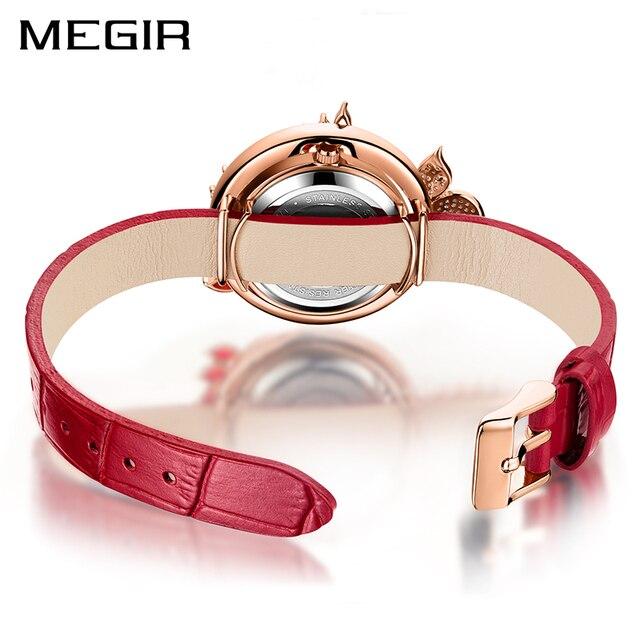 MEGIR Luxury DIY Women Watches Top Brand Luxury Quartz Women Bracelet Watch Clock Reloj Mujer Relogio 2018 Feminino Montre Femme 1